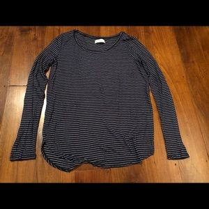 Women's Abercrombie and Fitch striped top Size Sm